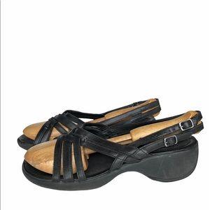 Merrell Sundial Braid Black Sandals 8